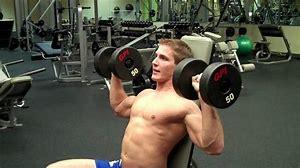 Emtrenamiento básico de hombros, press con mancuernas