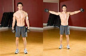 entrenamiento básico de hombros, elevaciones laterales