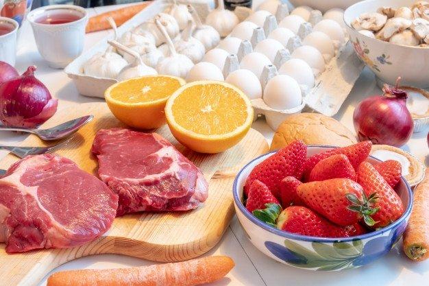 evolución del cuerpo con las proteínas, lleva una dieta adecuada