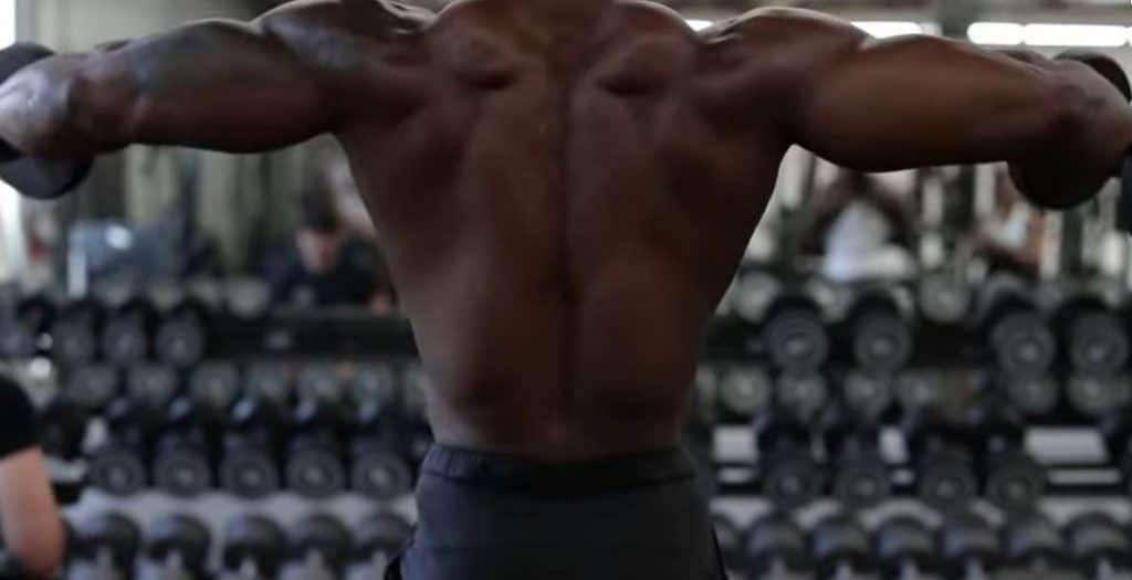 elevaciones laterales para hombros 3D