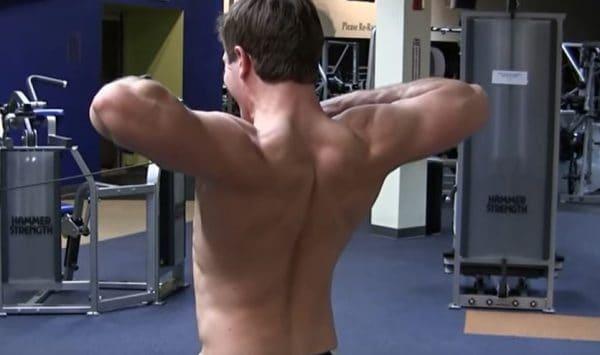 face pull para hombros 3D