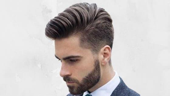 Corte pompadour para darle volumen al cabello
