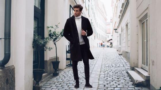 Elegir un abrigo elegante en invierno es fundamental